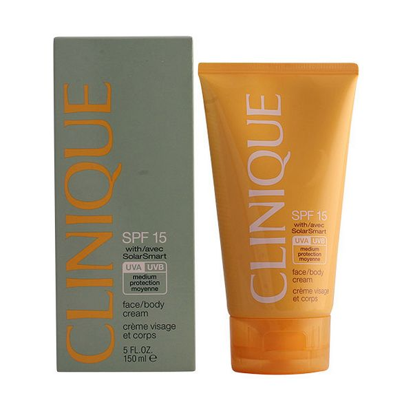Losjon za sončenje Sun Facebody Clinique SPF 15 (150 ml)
