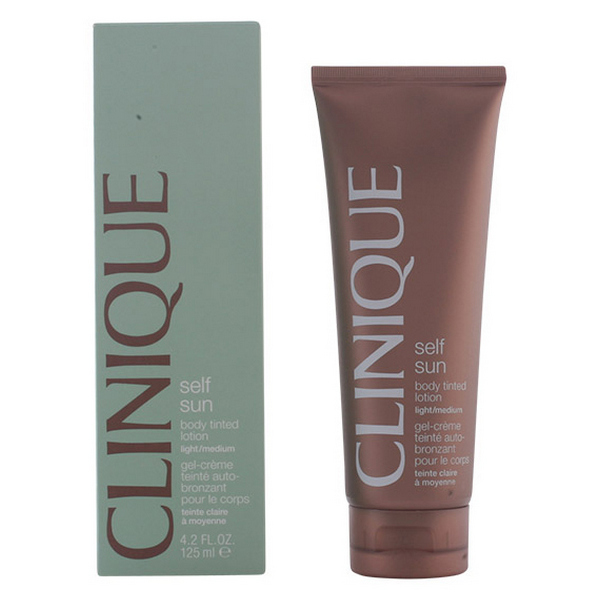 Preparat za samoporjavitev Sun Body Tinted Light Clinique (125 ml)