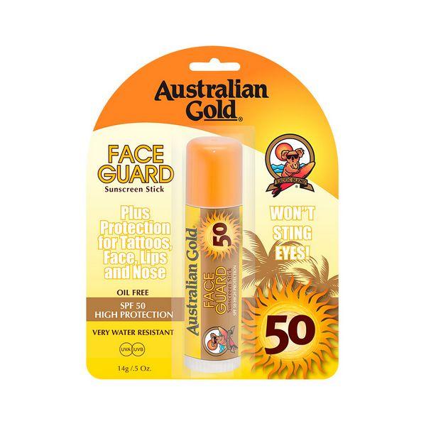 Krema za Sončenje za Obraz Sunscreen Stick Australian Gold SPF 50 (14 g)