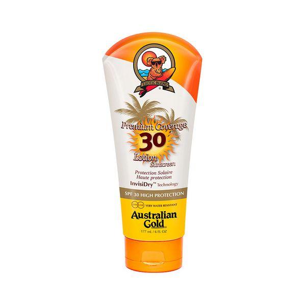 Losjon za sončenje Premium Coverage Australian Gold SPF 30 (177 ml)