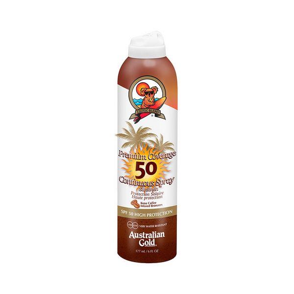 Zaščitni sprej za sonce Premium Coverage Australian Gold SPF 50 (177 ml)