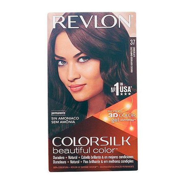Barva za lase brez amonijaka Colorsilk Revlon Čokolada