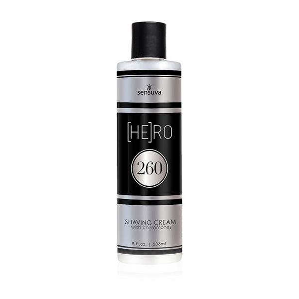 Creme de Barbear Feromonas HE(RO) 260 236 ml Sensuva 7662