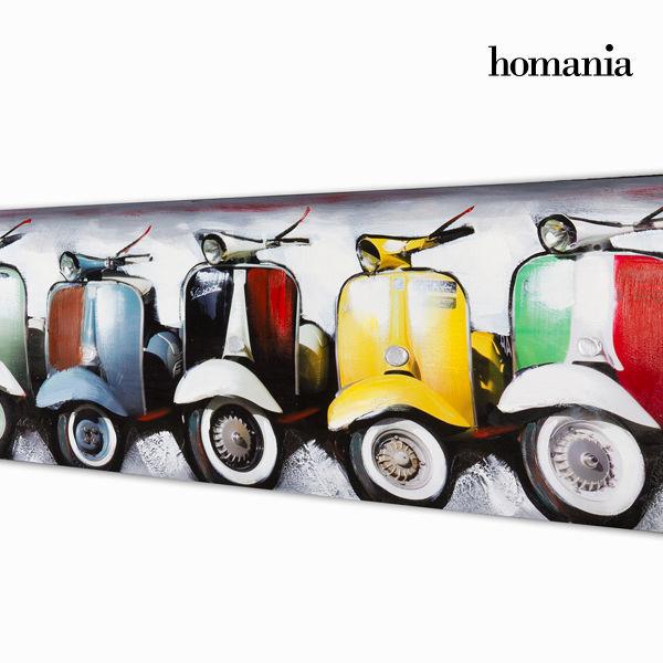 Oljna slika vespa motorjev by Homania