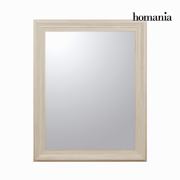 Tükör Fenyőfa Fehér (100 x 4 x 80 cm) by Homania