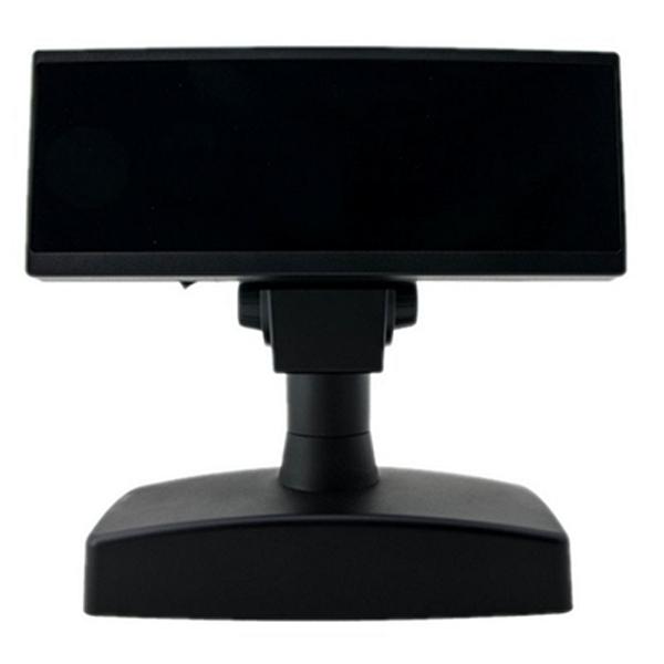 Visor para TPV Posiberica VC02VFD8I USB RS232 Negro