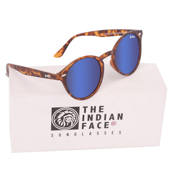 Óculos escuros unissexo The Indian Face Urban Spirit Tartaruga