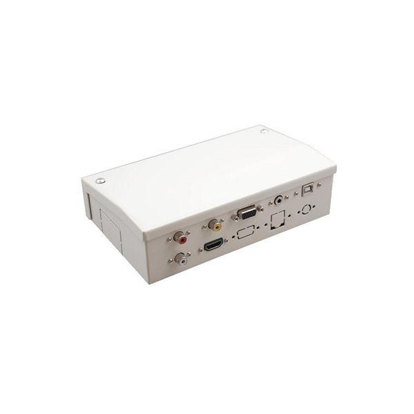 Caja de Conexiones para Pizarra Interactiva Traulux AAYAPR0097 TS1770001HN HDMI VGA 3,5 mm Blanco