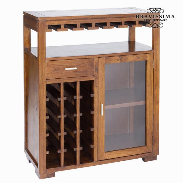 Mobile porta bottiglie forest - Serious Line Collezione by Bravissima Kitchen 7569000704859  02_S0101642