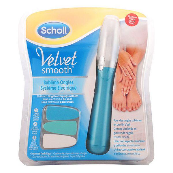 Elektromos körömreszelő Velvet Smooth Scholl 79425