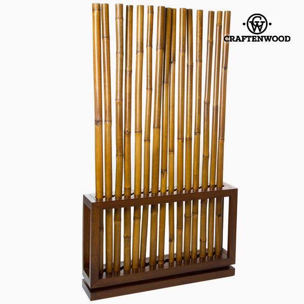 Obarvano bambusovo stojalo v orehovi barvi by Craftenwood