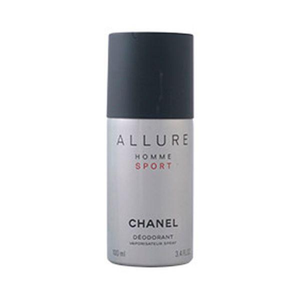 Deodorant v spreju Allure Homme Sport Chanel (100 ml)
