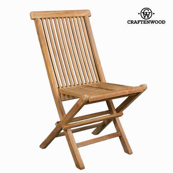 Tikfa összecsukható szék  by Craftenwood