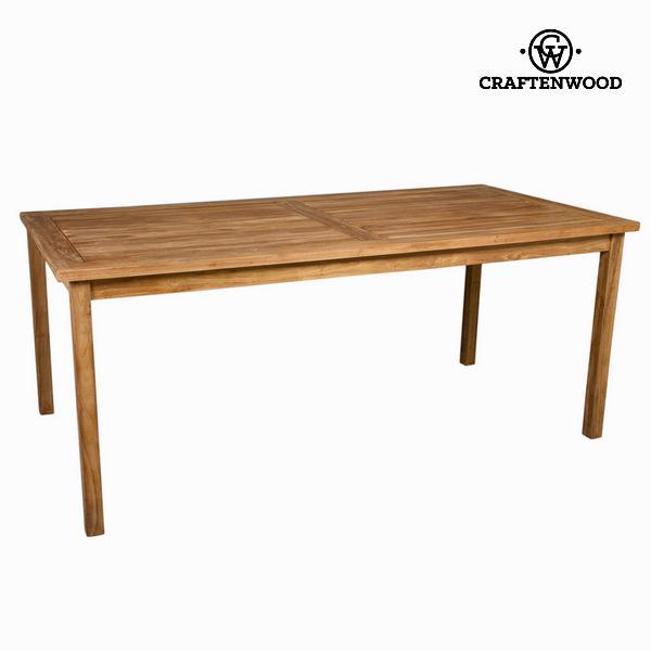 Zunanja miza iz naravnega tika by Craften Wood