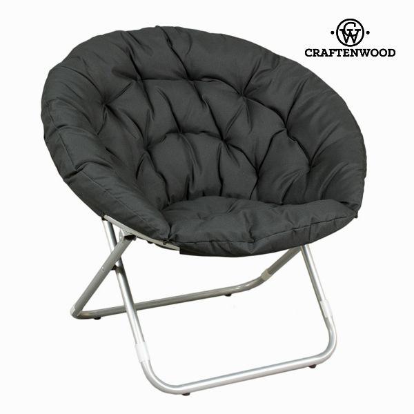 Črna zložljiva sedežna vreča by Craften Wood