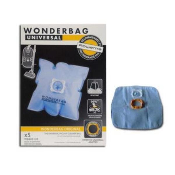 Univerzalna nadomestna vrečka za sesalnik Rowenta WB406120 6 L (5 uds)