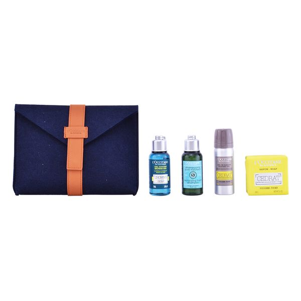 Set za osebno higieno za moške Eau De Cedrat L´occitane (4 pcs)