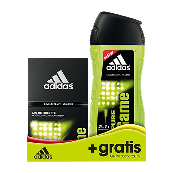 Moški parfumski set Pure Game Adidas (2 pcs)