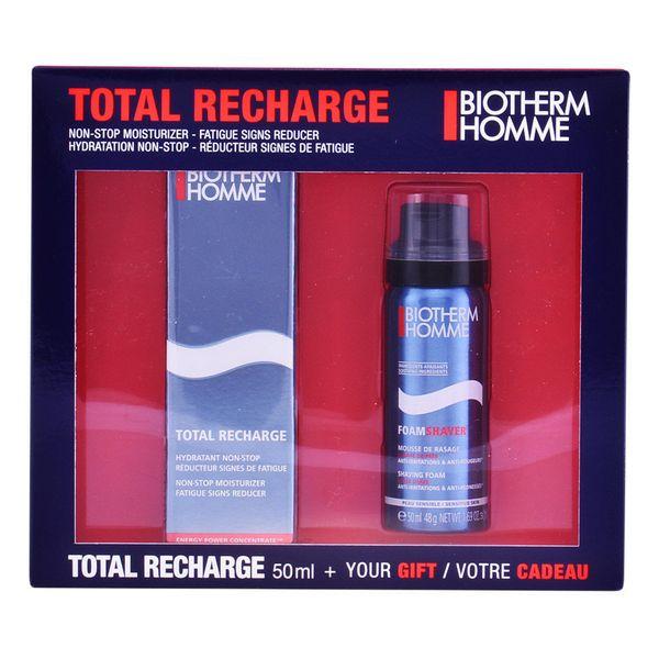 Borotválkozó Szett Homme Total Recharge Biotherm (2 pcs)