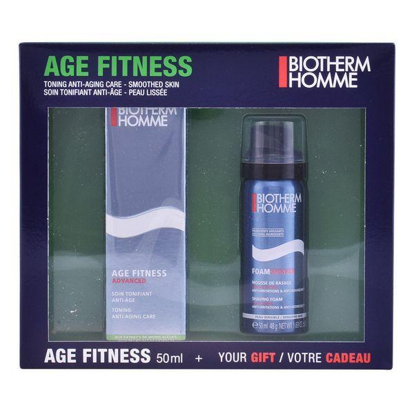 Borotválkozó Szett Homme Age Fitness Biotherm (2 pcs)