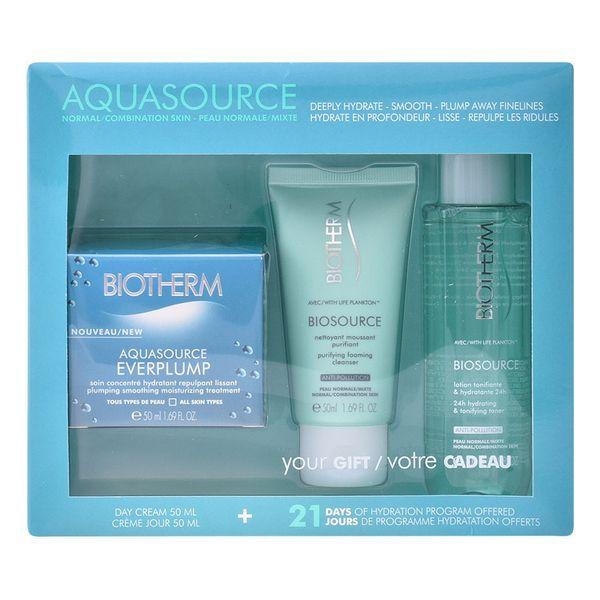 Női Kozmetikai Szett Aquasource Everplump Biotherm (3 pcs)