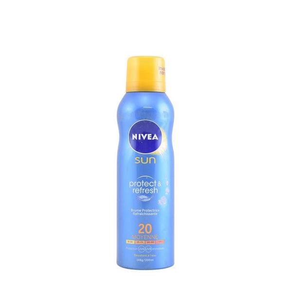Meglica za zaščito pred soncem Protege & Refresca Nivea SPF 20 (200 ml)