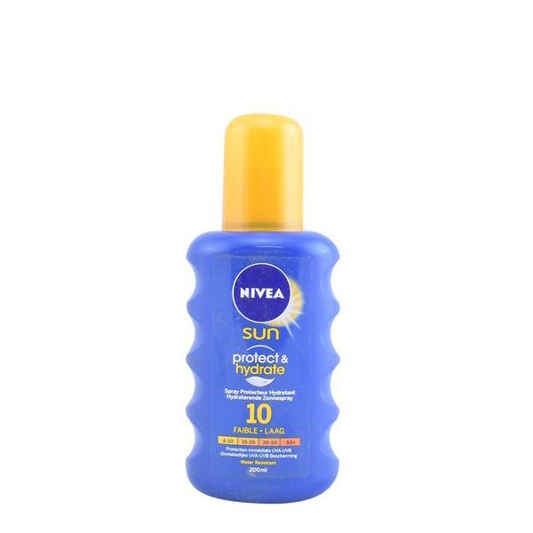 Zaščitni sprej za sonce Protege & Hidrata Nivea SPF 10 (200 ml)