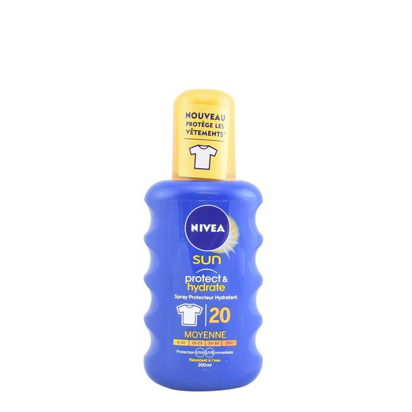 Zaščitni sprej za sonce Protege & Hidrata Nivea SPF 20 (200 ml)