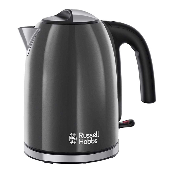Vízforraló Russell Hobbs 222221 2400W 1,7 L Szürke Fekete