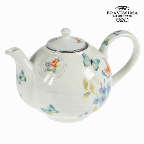 Théière en porcelaine spbu - Collection Kitchen's Deco by Bravissima Kitchen