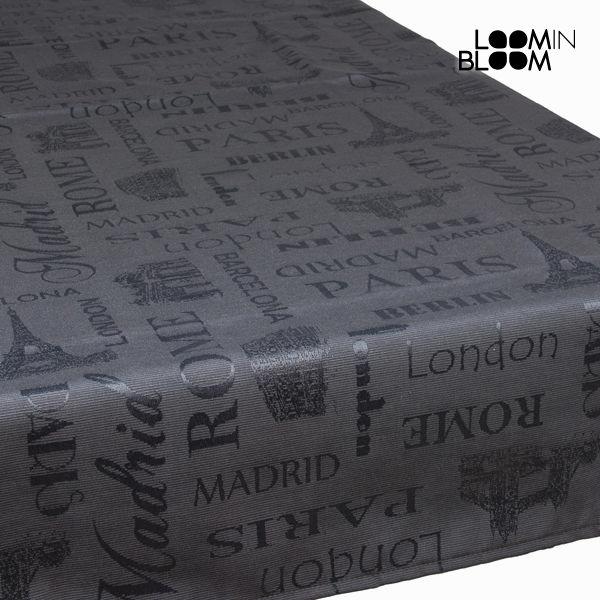 Sivi namizni prt london - Cities Zbirka by Loomin Bloom