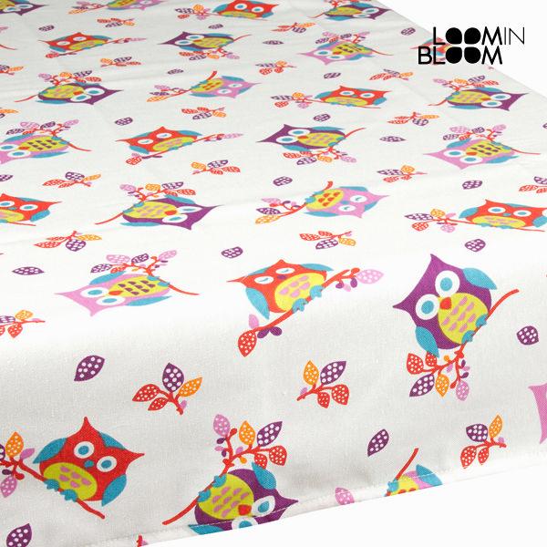Beli namizni prt sove by Loomin Bloom