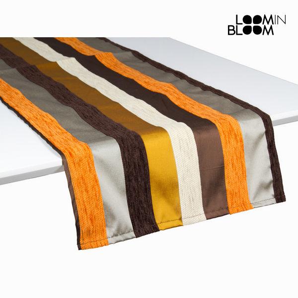 Motegi asztali futÓ narancs - Colored Lines Gyűjtemény by Loom In Bloom
