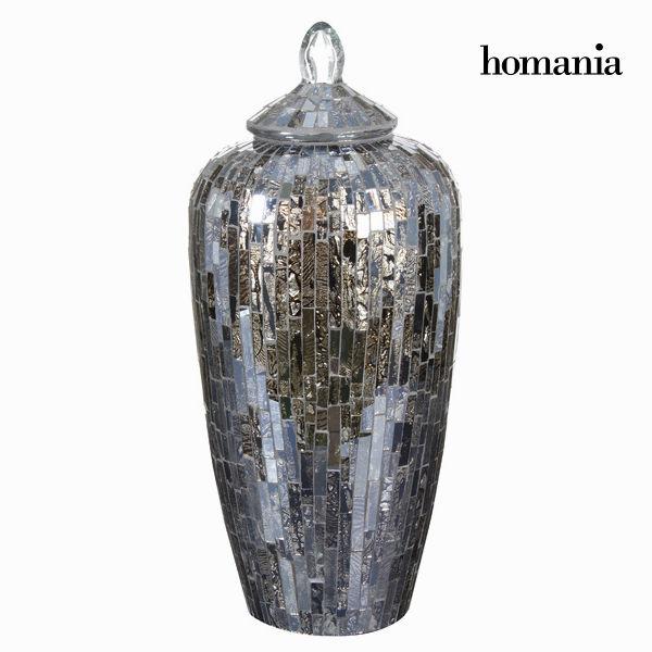 Anfora di cristallo mosaico - Alhambra Collezione by Homania 7569000709021  02_S0100353