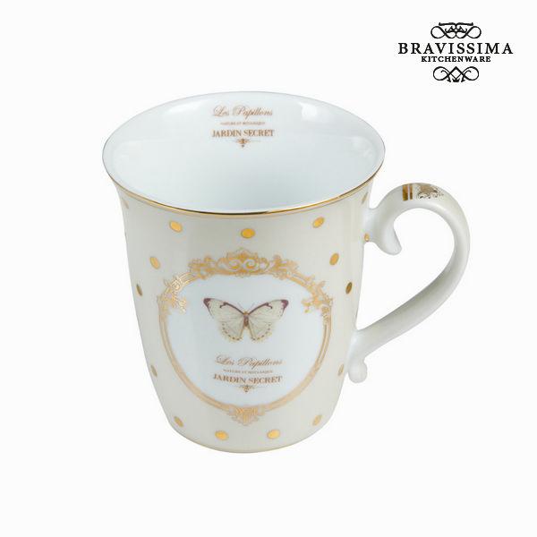 Tasse avec boîte butterfly - Collection Kitchen's Deco by Bravissima Kitchen