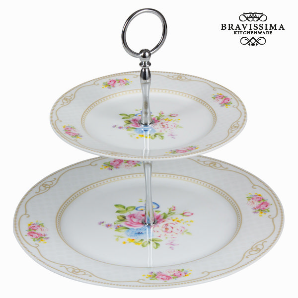 Antipastiere bouquet bianco - Kitchen's Deco Collezione by Bravissima Kitchen 7569000711215  02_S0100621