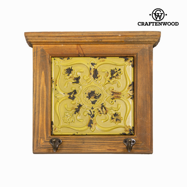 Attaccapanni legno giallo by Craftenwood 7569000711444  02_S0100549