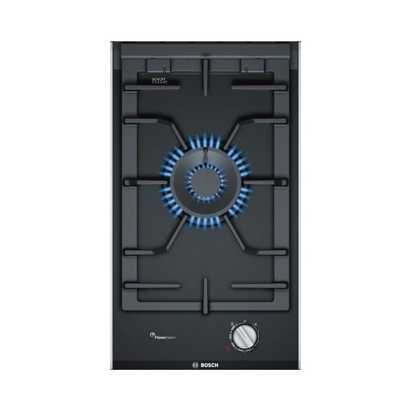 Gáz Főzőlap BOSCH PRA3A6D70 30 cm 2W Fekete