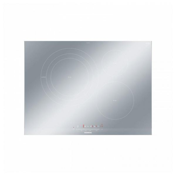 Indukciós Főzőlap Siemens AG (70 cm) QuickStart Control touchSlider FryingSensor Fémes