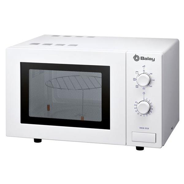 Mikrohullámú Sütő Grillsütővel Balay 3WGB2018 17 L 800W Fehér