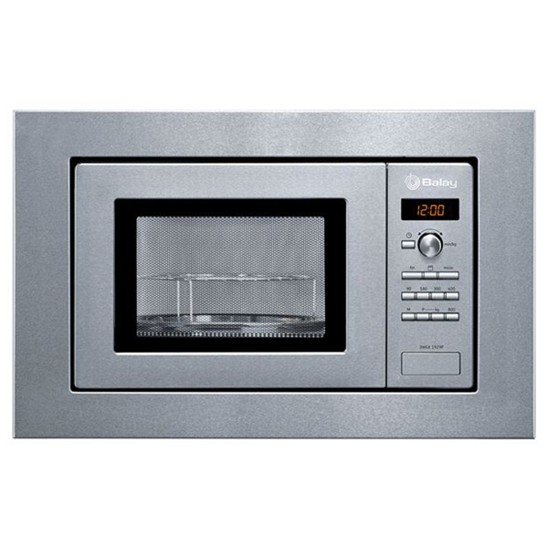 Built-in microwave with grill Balay 3WGX1929P 18 L 800W Rozsdamentes acél