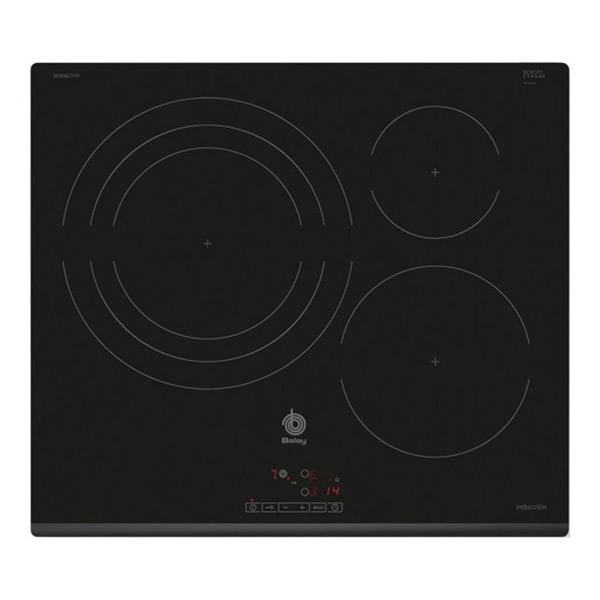 Indukciós Főzőlap Balay 219357 7400W 60 cm Fekete