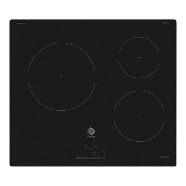 Indukciós Főzőlap Balay 219234 4600W 60 cm Fekete Kristály