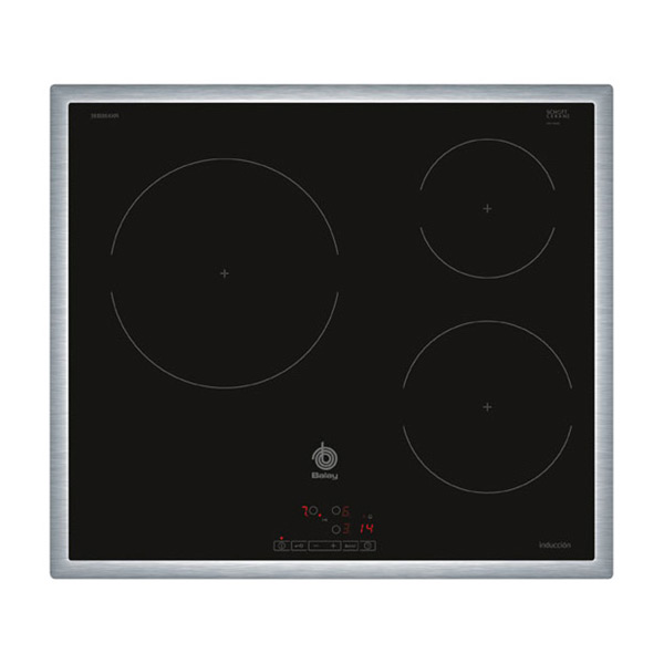 Indukciós Főzőlap Balay 3EB864XR 60 cm Fekete (3 főzőfelületek)