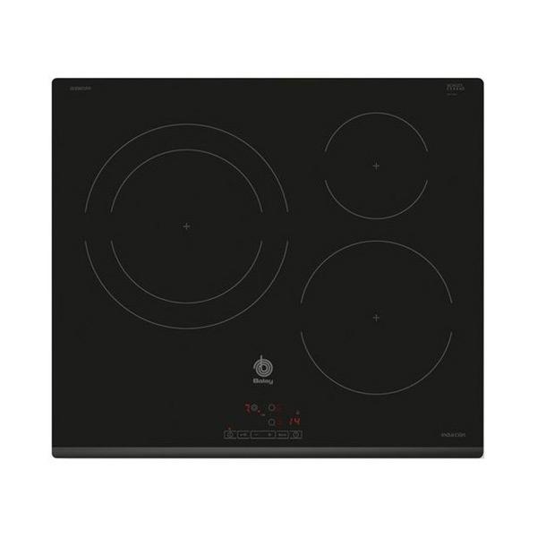 Indukciós Főzőlap Balay 3EB865FR 60 cm Fekete (3 főzőfelületek)