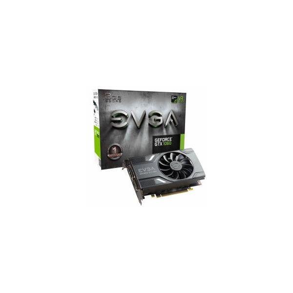 Tarjeta Gráfica Gaming EVGA 03G-P4-6160-KR GTX 1060 ACX 2.0 3 GB|DDR5