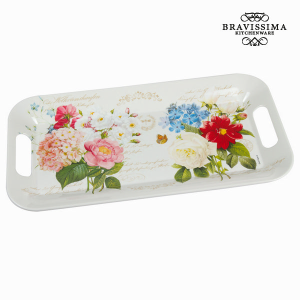 Plateau flowers bouquet - Collection Kitchen's Deco by Bravissima Kitchen