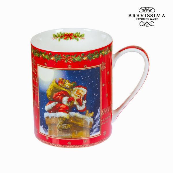 Brocca porcellana natale rossa by Bravissima Kitchen
