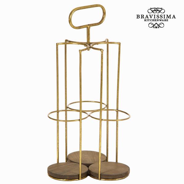 Palacktartó Vas (43 x 20 x 21 cm) - Art & Metal Gyűjtemény by Bravissima Kitchen