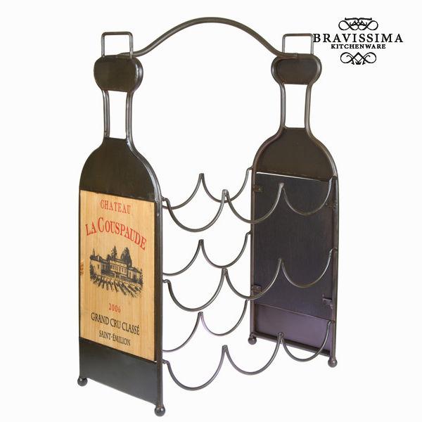 Portabottiglie 9 bottiglie - Art & Metal Collezione by Bravissima Kitchen 7569000716661  02_S0101089